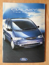 FORD GALAXY 1995-96 UK Mkt prestige sales brochure - Aspen GLX Ghia Ultima
