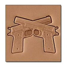 Pistols 3D Stamp 8690-00 by Tandy Leather