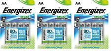 12 x AA ENERGIZER Energizer Eco Advanced Batteries 7638900410716 FREEPOST