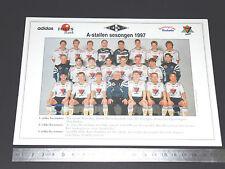 RARE ROSENBORG BALLKLUB RBK 1917 NORGE NORVEGE A-STALLEN SESONGEN 1997 FOOTBALL