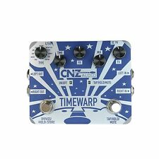 CNZ Audio Time Warp - Multi-Delay Guitar Effects Pedal, True Bypass