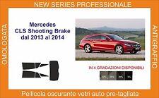 pellicola oscurante vetri pre tagliata mercedes cls shooting brake dal 2013