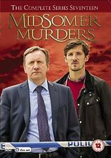 MIDSOMER MURDERS (Ispettore Barnaby) Stagione 17 BOX 4DVD in Inglese NEW .cp