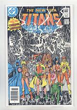 New Teen Titans #36 (Newsstand) Nm Perez, Tanghal, Pollard, Cyborg, Starfire