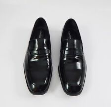 New Men's Calvin Klein Horace Patent Leather Bit Loafer Shoes Size 8.5 M
