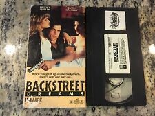 BACKSTREET DREAMS RARE VHS! NOT ON DVD 1990 BROOKE SHIELDS AUTISTIC CHILD DRAMA!