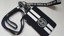 Victorias Secret Lanyard employee student ID Badge Case Card coin purse pouch