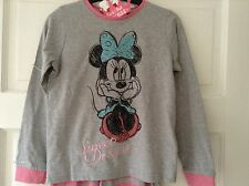 JOHN LEWIS DISNEY MINNIE MOUSE 'SWEET DREAMS' PYJAMAS. AGE 9-10. BNWT. PINK
