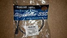 GIGABASE 350 CAT5e PATCH CABLE 350MHz BOOTED BLACK 2FT 0.6M 24 AWG 4-PAIR UTP