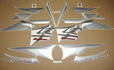 GSX 1300R Hayabusa custom silver decals stickers graphics adhesives set kit busa