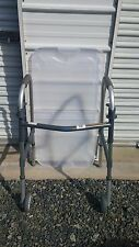 Invacare Dual-Release Paddle Adult Walker w/ Front Assist Wheels