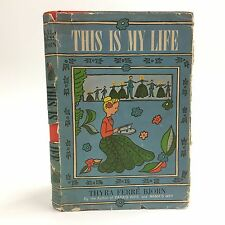 This is My Life~Bjorn, Thyra Ferre~HBDJ 1st US edition