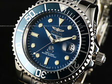 Invicta 300M Grand Diver Automatic Teal Blue Dial Coin Edge High Polish Watch