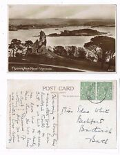 DEVON POST CARD PLYMOUTH FROM MOUNT EDGECOMBE