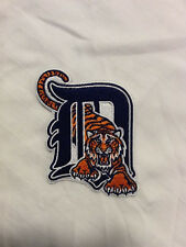 Detroit Tigers Logo MLB Baseball Hat Jersey Shirt Embroidered Iron On Patch