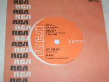"""7"""" - Slade My Oh My & Keep your Hands off my power - TRS 487 South Africa # 5394"""