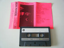 IRON MAIDEN LIVE AT THE RAINBOW LONDON 21.12.1980 CASSETTE TAPE STEREO SOUND