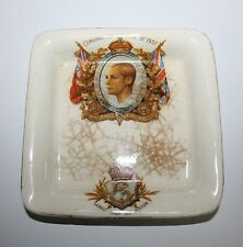 Vintage Antique Coronation 1937 Long May He Regn King Edward VIII Ashtray Old