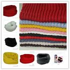 New Unisex Cotton Soft Knit Neck Circle Scarfs Shawl Wraps Loop Winter Warmer -Q