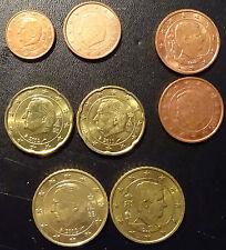 Belgie  1,5,10,20,50 cent + 1 + 2 euro  2011 unc ( 7 munten 2011)