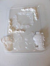 Plastic Mould Makes Corners and Cameos chocolate plaster wax