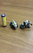 Pokemon generation 3rd plastic figure set(lot)  Lairon Aggron 1-2 inches tall