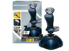 THRUSTMASTER USB PLUG & PLAY JOYSTICK per PC, 4 pulsanti, 3 assi & Thumb THROTTLE