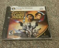New Star Wars The Clone Wars Republic Heroes Games for Windows SEALED
