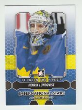 (56805) 2012-13 ITG BETWEEN THE PIPES HENRIK LUNDQVIST #199 (LOT of 7)