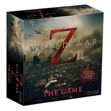 WORLD WAR Z - THE GAME - ZOMBIE APOCALYPSE MOVIE BOARD GAME UNIVERSITY GAMES