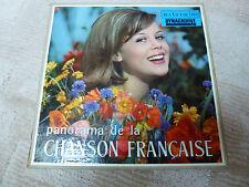 Coffret de 10 disques 33 T (avec les pochettes) Panorama de la chanson Française