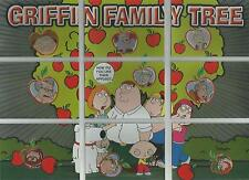 "Family Guy Season 2 - ""Griffin Family Tree"" 9 Card Puzzle Chase Set  #FT1-9"