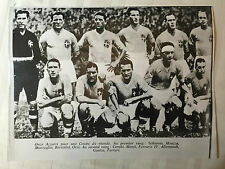 photo press football    Italie 1934       592