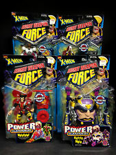TOY BIZ X-MEN SECRET WEAPON FORCE POWER SLAMMERS 4 FIGURE SET MASTER MOLD D76