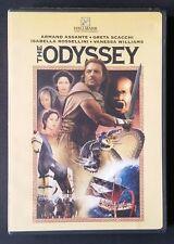 The Odyssey DVD 2001 Armand Assante Greta Scacchi Isabella Rossellini