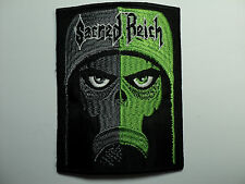 SACRED REICH    EMBROIDERED PATCH