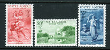 """Algeria SC# B91-3 MNH (3) Stamp Semi-Postal """"Paintings"""" Set  Issued in 1957/"""