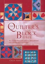 QUILTER'S BLOCK BIBLE 100 Traditional & Contemporary SPIRAL BOUND HARDCOVER