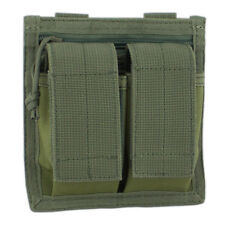 Bulldog MOLLE Military Tactical Mil-Spec Double 40mm UGL Grenade Pouch Green NEW