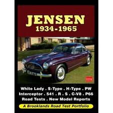 Jensen 1934-1965 Road Test Portfolio book paper