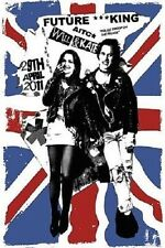 Will and Kate Punks Poster