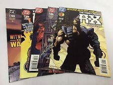 Man Called AX #1-6 (DC/Wolfman/McManus/1114348)COMIC BOOK COLLECTION LOT OF 5