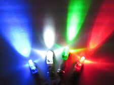 Finger Lights Set of 4 - Party Lights, RAVE, Disco Party, DJ's Tiny Flashlights