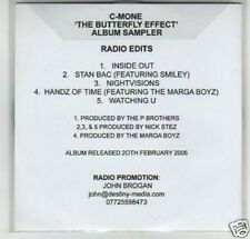 (G166) C-Mone, The Butterfly Effect sampler - DJ CD