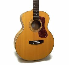 Guild Jumbo Junior Maple Westerly Collection Acoustic-Electric Guitar w/ Case