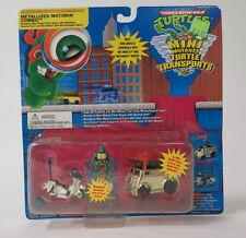 Vintage TMNT Ninja Turtles Mini Mutants Transports Metallized Motorin Combo RARE