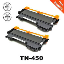 2x TN450 Toner for brother DCP-7060D DCP-7065DN HL-2220 HL-2230 MFC-7860DW