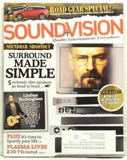 SOUND AND VISION MAGAZINE LINDSEY BUCKINGHAM BREAKING BAD SURROUND SOUND SIMPLE!