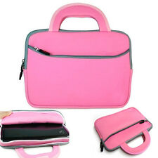 Pink Sleeve Carry Case Soft Cover w/ Handle Amazon Kindle Fire HD 8.9