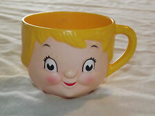 VINTAGE COLLECTIBLE CUP CAMPBELL'S SOUP GIRL CHILD PLASTIC MUG